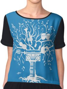 Melody Tree - Light Silhouette Women's Chiffon Top