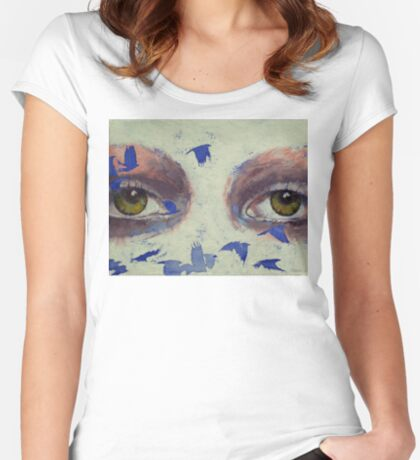 The Crow is My Only Friend Women's Fitted Scoop T-Shirt