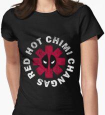 aae5043693 para mujer Chimi entallada Camiseta Hot Changas Red 5PfEfZSq