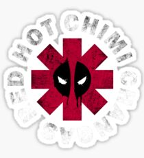 Red Hot Chimi Changas Sticker