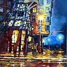 Prague Dancing House  by Yuriy Shevchuk