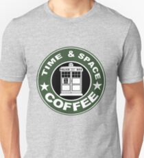 COFFEE: TIME AND SPACE Unisex T-Shirt