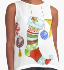 Sparkle & Candy Sleeveless Top
