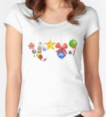 Sparkle & Candy Fitted Scoop T-Shirt