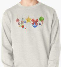 Sparkle & Candy Pullover Sweatshirt