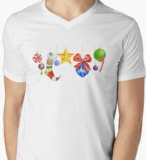 Sparkle & Candy V-Neck T-Shirt
