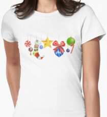 Sparkle & Candy Women's Fitted T-Shirt