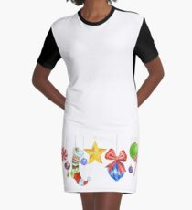 Sparkle & Candy Graphic T-Shirt Dress
