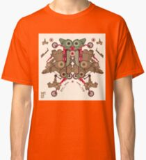 Vector Abstract robot character Classic T-Shirt