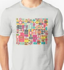 VIntage camera pattern wallpaper design Unisex T-Shirt