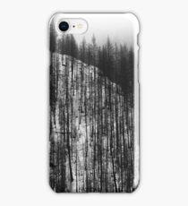 Pine pattern ridge - photography iPhone Case/Skin