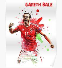 GARETH BALE - 11 - WALES Poster
