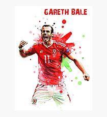 GARETH BALE - 11 - WALES Photographic Print