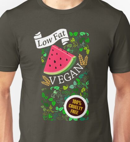 Low Fat Vegan T-Shirt
