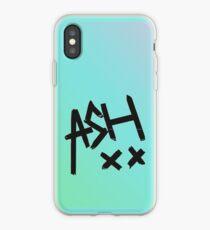 Blue Ombre Ash XX iPhone Case