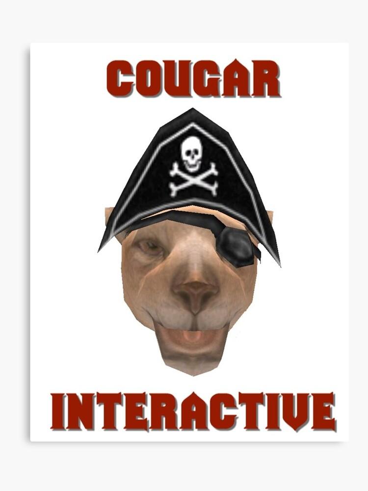 Cougar Interactive   Canvas Print