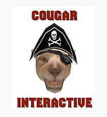 Cougar Interactive Photographic Print