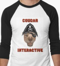 Cougar Interactive Men's Baseball ¾ T-Shirt