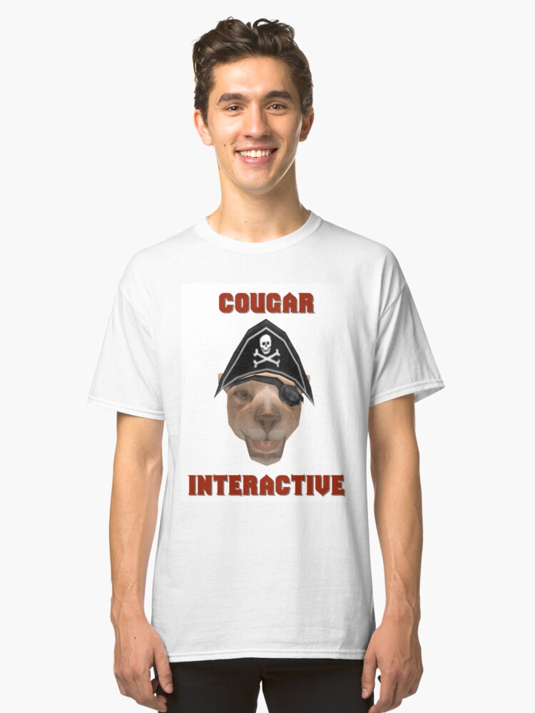 Cougar Interactive Classic T-Shirt Front