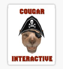 Cougar Interactive Sticker