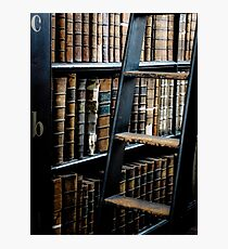 Books of Knowledge #1 Photographic Print
