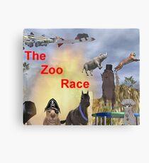 The Zoo Race Rides Metal Print