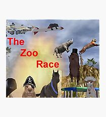 The Zoo Race Rides Photographic Print