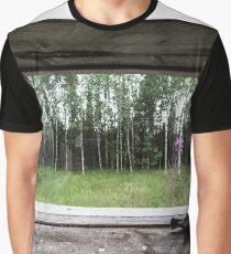 Bird View Graphic T-Shirt