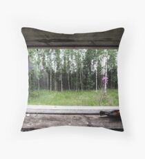 Bird View Throw Pillow