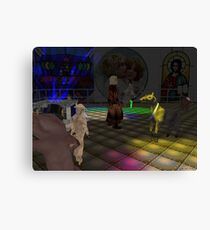 The Zoo Race dance floor Canvas Print