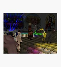 The Zoo Race dance floor Photographic Print