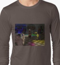 The Zoo Race dance floor Long Sleeve T-Shirt