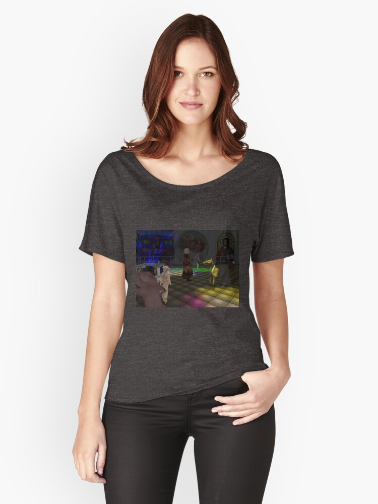 The Zoo Race dance floor Women's Relaxed Fit T-Shirt Front