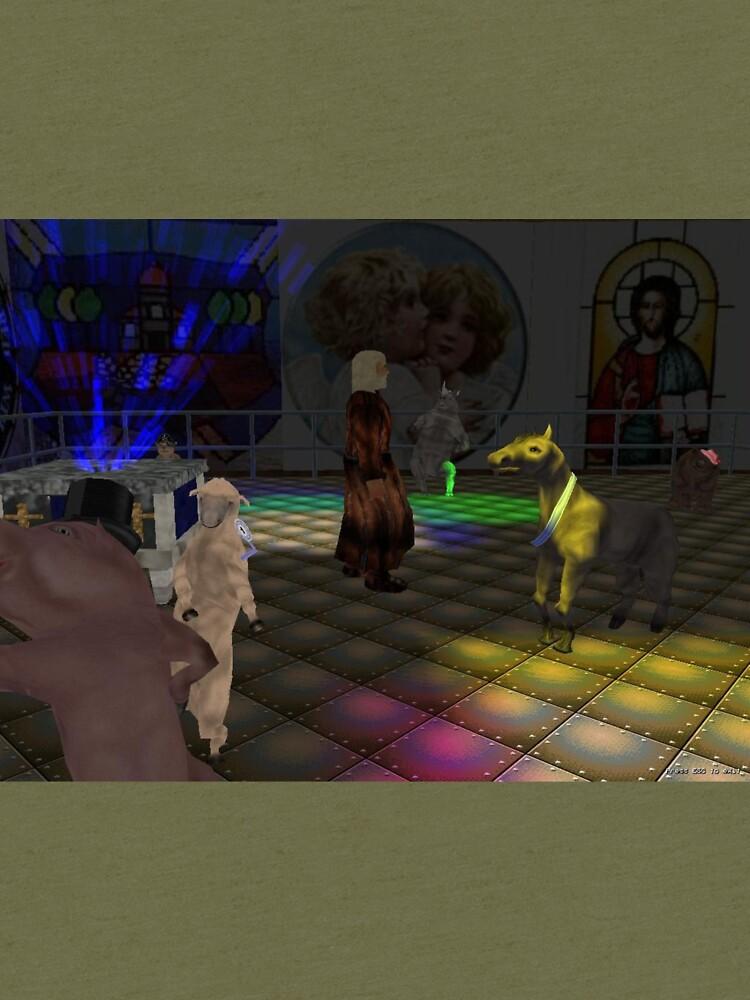 The Zoo Race dance floor by zoorace