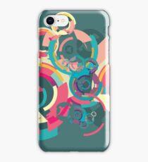 Vector colorful broken circle pattern iPhone Case/Skin