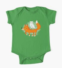 the fox and the owl Kids Clothes
