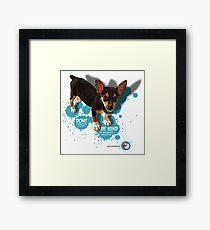 protect domestic wildlife 4 Framed Print
