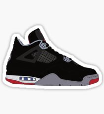 "Air Jordan IV (4) ""Bred"" Sticker"