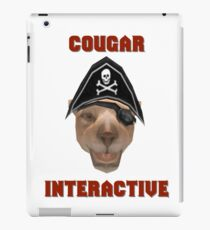 Cougar Interactive iPad Case/Skin