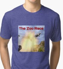 The Zoo Race Cannon Tri-blend T-Shirt