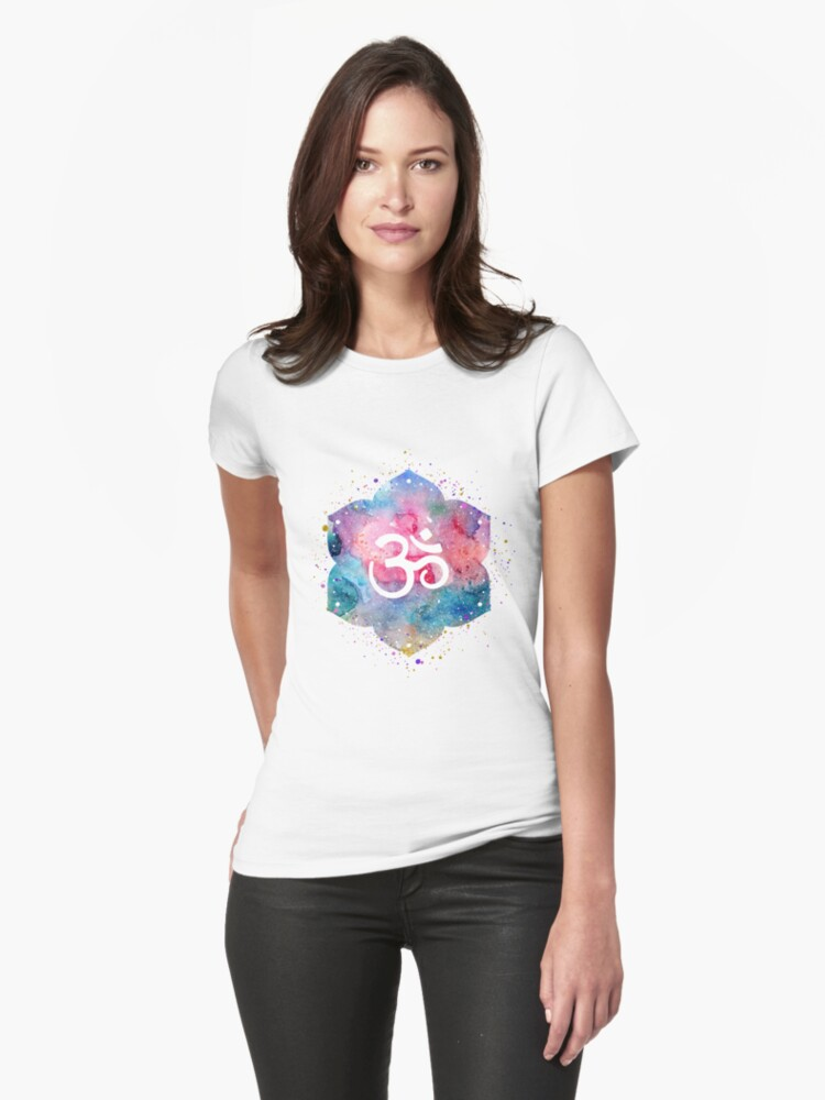Om Womens T-Shirt Front
