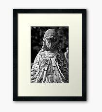 Saint Mary 1 Black and White Framed Print