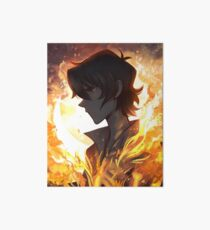 Burning in My Bones Art Board