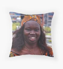 Multicultural Australia Throw Pillow