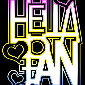 LGTBQ+ & more - hella pan by DoodlesByAdzie
