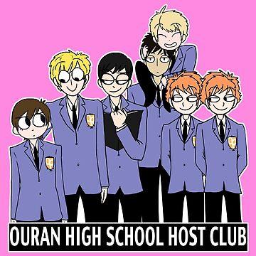random - ouran high school host club by DoodlesByAdzie