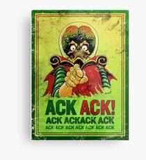 Mars Attack -  ACK ACK! Metal Print