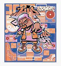 hip hop yo! Photographic Print