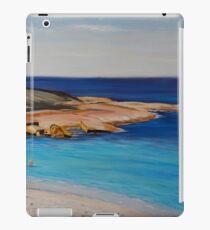 Tranquil Morning Swim at Salmon Beach iPad Case/Skin