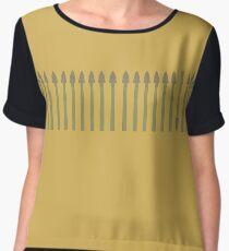 Asparagus Women's Chiffon Top